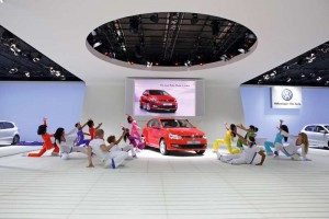 Der Polo auf der Auto Expo in Indien