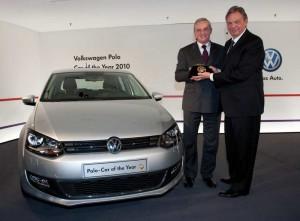 """Der neue Polo ist """"Car of The Year 2010"""": Feierliche Preis-Verleihung in Wolfsburg"""