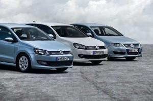 Die BlueMotion Modelle Golf, Polo und Passat (2009)