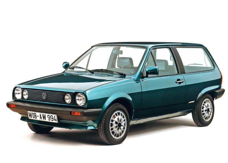 30 Jahre Volkswagen Polo II: Der kleine Kombi: Bei seiner Präsentation 1981 erregte der Polo II mit seiner Steilheckkarosserie große Aufmerksamkeit