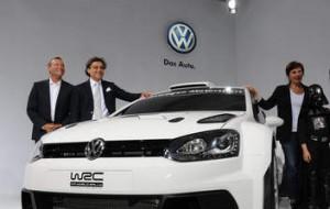 Präsentation des Polo WRC auf der IAA