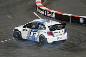 Polo R WRC: Sébastien Ogier (FRA) Race of Champions 2011