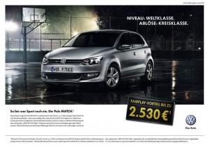 "Polo V Sondermodell ""MATCH"": Preisvorteil von 2.530 € (14.450 €)"
