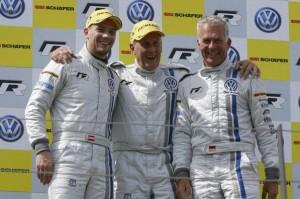 Johannes Stuck (A), Hans-Joachim Stuck (D), Christian Danner (D)