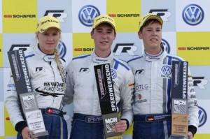 Michele Gatting (DK), Kelvin van der Linde (ZA), Manuel Fahnauer