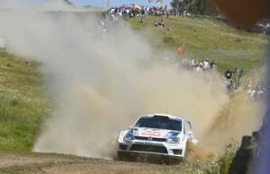 Knapp 160 Kilometer, sechs fordernde Wertungsprüfungen und zwei Polo R WRC vorn