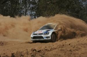 Polo R WRC im Einsatz