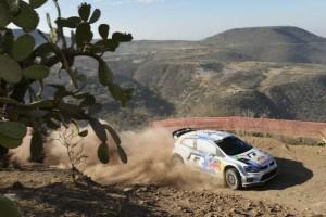 Qualifikation zur Rallye Mexiko