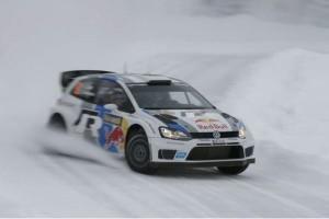 Der zweite Tag der Rallye Schweden