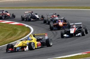 Tom Blomqvist (GB), Max Verstappen (NL), Dallara Volkswagen
