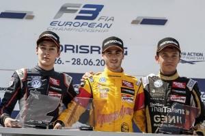 George Russel (GB), Antonio Giovinazzi (I), Alexander Albon (T)