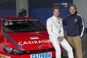 Pierre Casiraghi (MC), Jacky Ickx (B)
