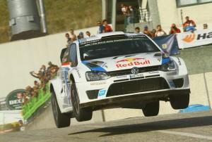 Latvala und der Volkswagen Polo R WRC begeistern Fans in San Marino