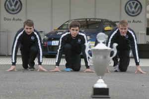 Jordan Lee Pepper (ZA), Kelvin van der Linde (ZA), Kasper H. Jensen (DK), Volkswagen Scirocco R-Cup