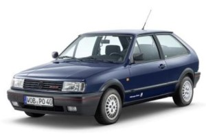 Jubilar des Jahres 2015 ist der Volkswagen Polo, der seit 1975 in über 14 Millionen Einheiten ausgeliefert wurde. Hier der legendäre Polo G40 mit aufgeladenem 1,3-Liter-Motor.
