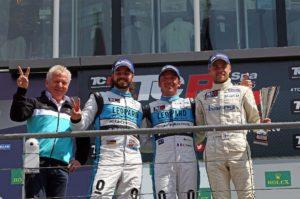 TCR International Series | Stefano Comini (CH), Jean-Karl Vernay (F), Antti Buri (FIN)